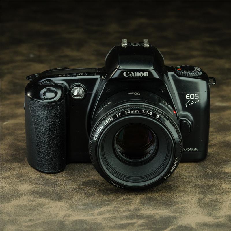 Поцелуй Canon / Canon EOS полностью автоматическая Пленочная пленочная камера 50mm1.8 зеркало Головной убор