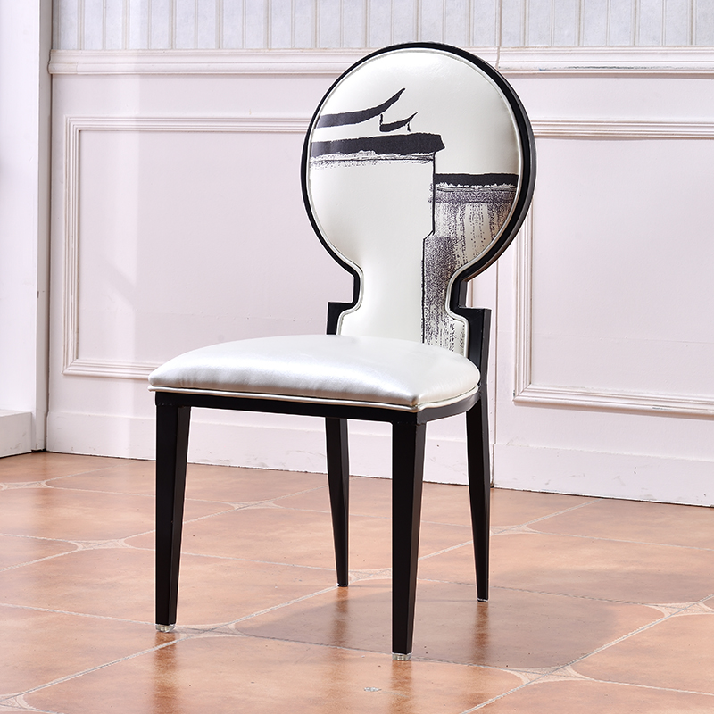 Groovy New Chinese Style Iron Dining Chair Modern Neoclassical Gmtry Best Dining Table And Chair Ideas Images Gmtryco