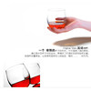 Langfeng heat-resistant glass cup water glass without feet wine glass whiskey glass creative spirit wine glass