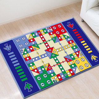Hua Ying carpet flying chess big rich game chess puzzle toys large double-sided chess board checkers floor mat