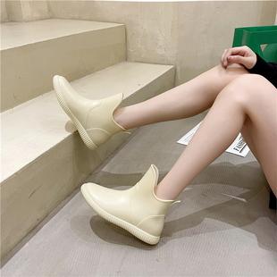 【伊念情2021】新款时尚马丁雨靴