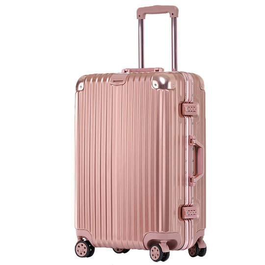 Aluminum box luggage net red trolley case small 20 inch ultra light travel box tide student box male 24 female universal wheel