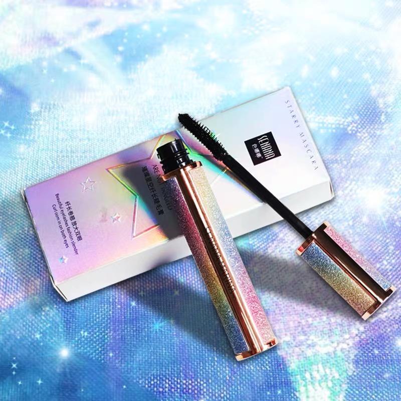Starry bầu trời mascara không thấm nước và cong tự nhiên uốn cong lâu dài mà không nở dày và kéo dài - Kem Mascara / Revitalash
