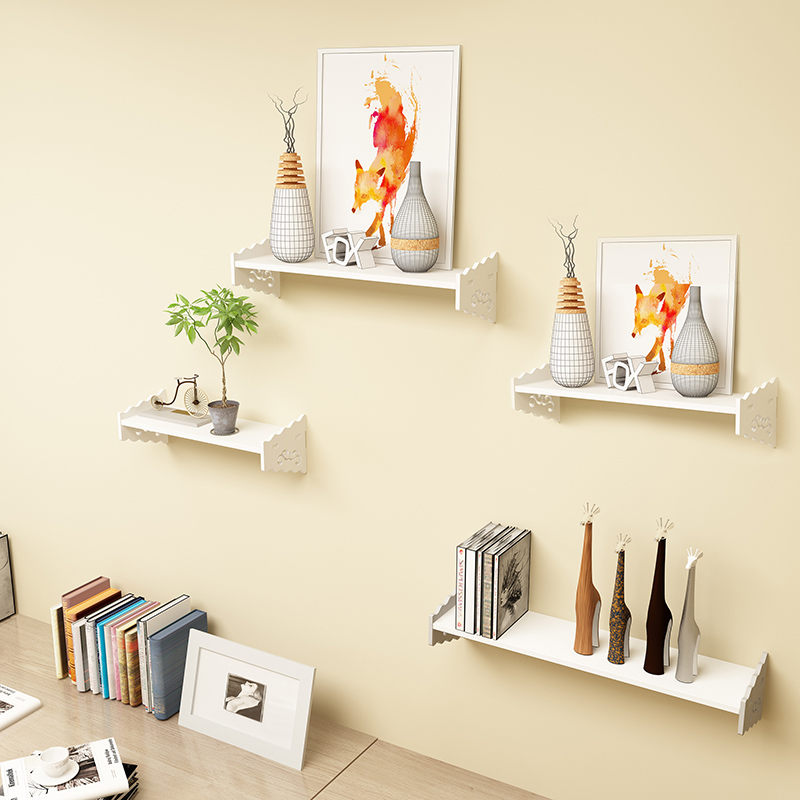 Usd 12 73 Free Punch Wall Shelf Living Room Bedroom Wall Decoration