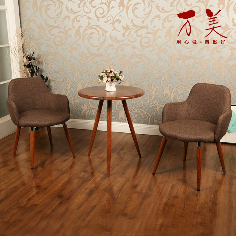 Elegant Modern Simple Ims Chair Cloth Coffee Balcony Meeting Negotiation  Table And Chair Combination Nordic Leisure Table With Ims Chair