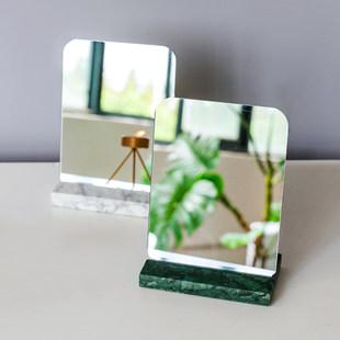 LIMlife нордический простота большой мрамор соус зеркало ванная комната спальня рабочий стол рабочий стол косметическое зеркало комната с несколькими кроватями принцесса зеркало