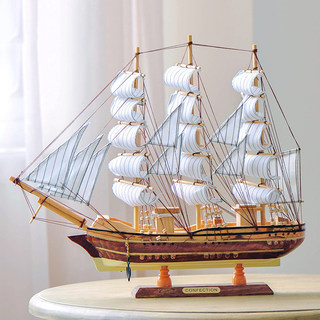 Smooth sailing model ornaments living room entrance bar creative home decoration crafts ornaments Pirate Ship