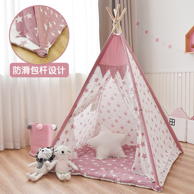 Children's tent game house interior princess girl castle male baby Indian small house kindergarten toy house