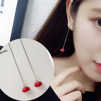 Apricot X515 Cherry Ear Wire