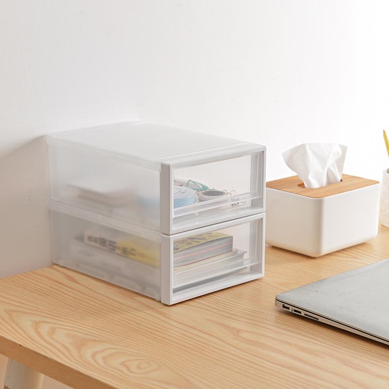 衣柜收纳箱抽屉式收纳盒组合储物盒透明塑料整理箱衣服衣物收纳柜