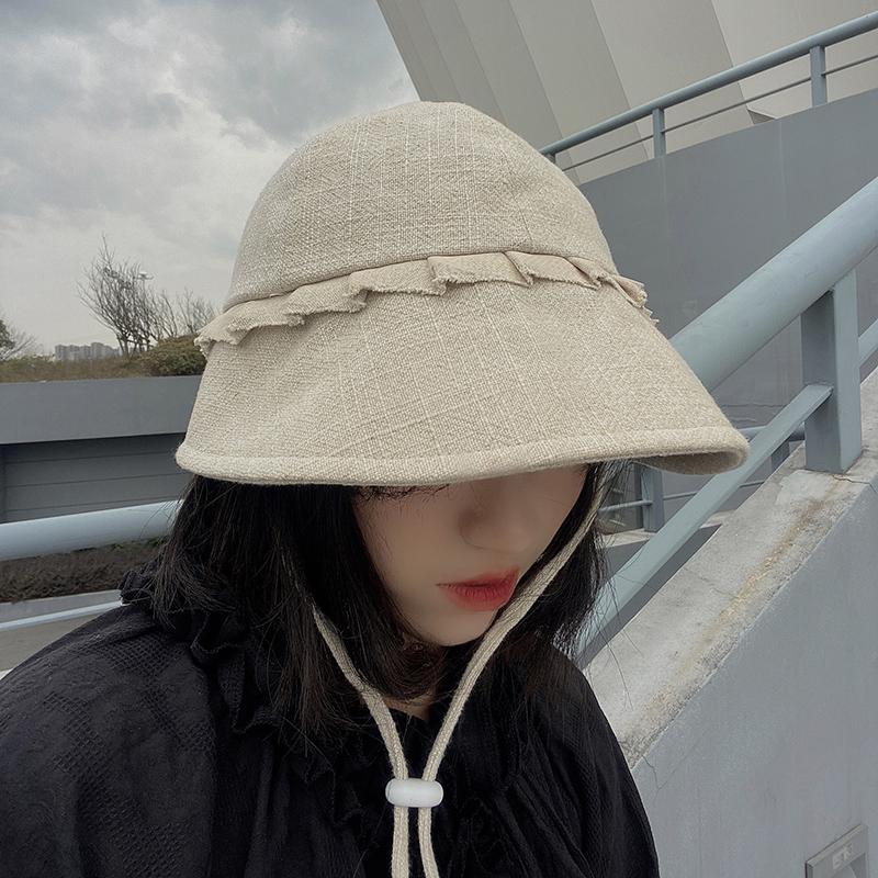 Korean sunshade sunscreen fisherman hat NHALD337048