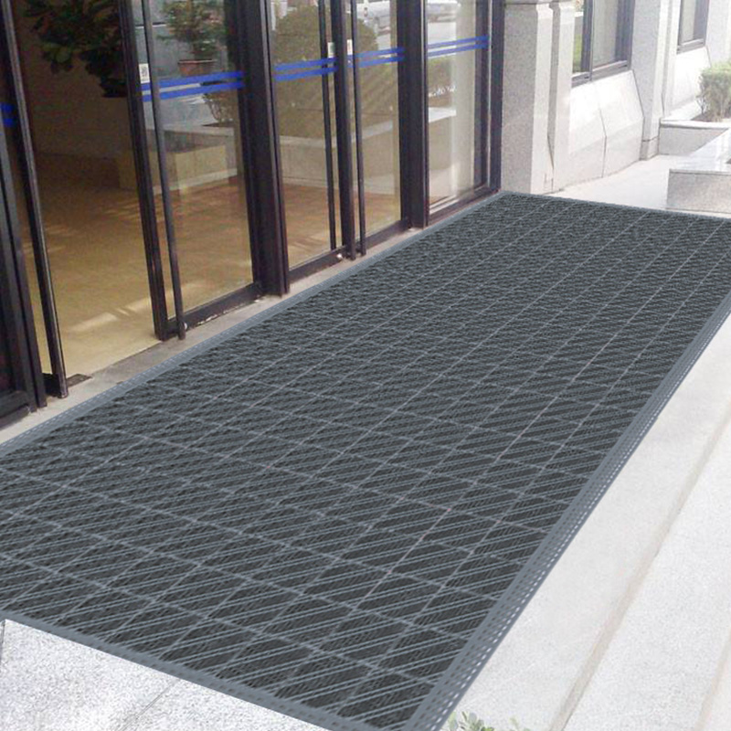 Outdoor Three In One Plastic Mats Embled Hall Entrance Two Carpet Step Non Slip