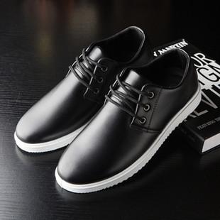 男士休闲商务皮鞋韩版潮流男鞋