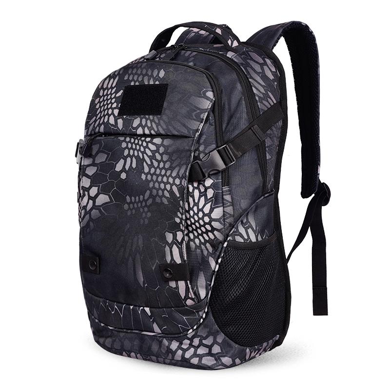户外登山包大容量战术背包迷彩包双肩男士休闲电脑包运动旅行背包