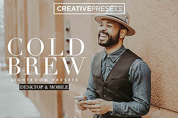 Lightroom人像预设 Cold Brew Moody Lightroom Presets