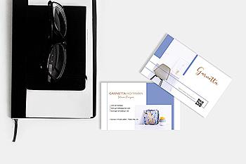 创意极简名片设计模板下载 Garnetta – Creative Minimalist Business Card RY