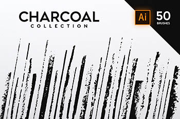 木炭系列画笔 Charcoal Collection