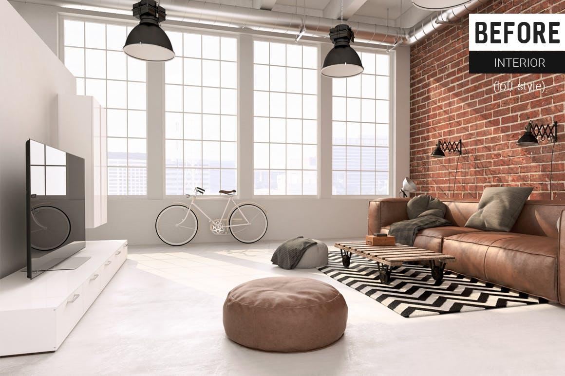 高端室内摄影lightroom预设下载lightroom下载设计素材模板