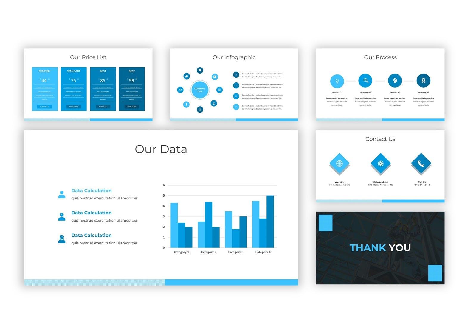 商务ppt 公司大数据汇报 企业ppt模板 模板设计素材模板