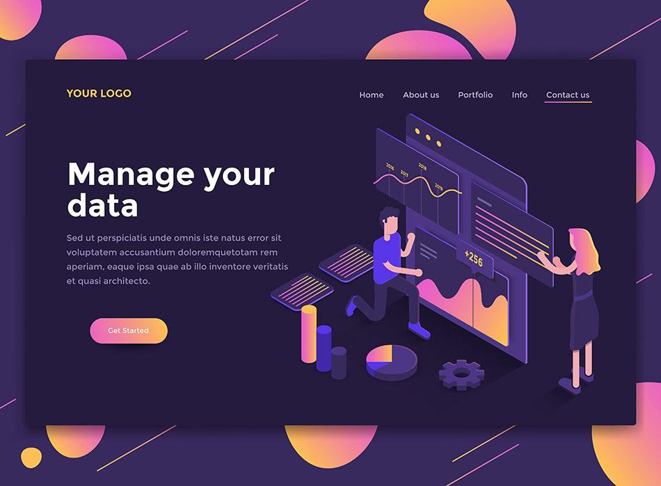Flat-Modern-design-of-website-template---Data-Anal.jpg