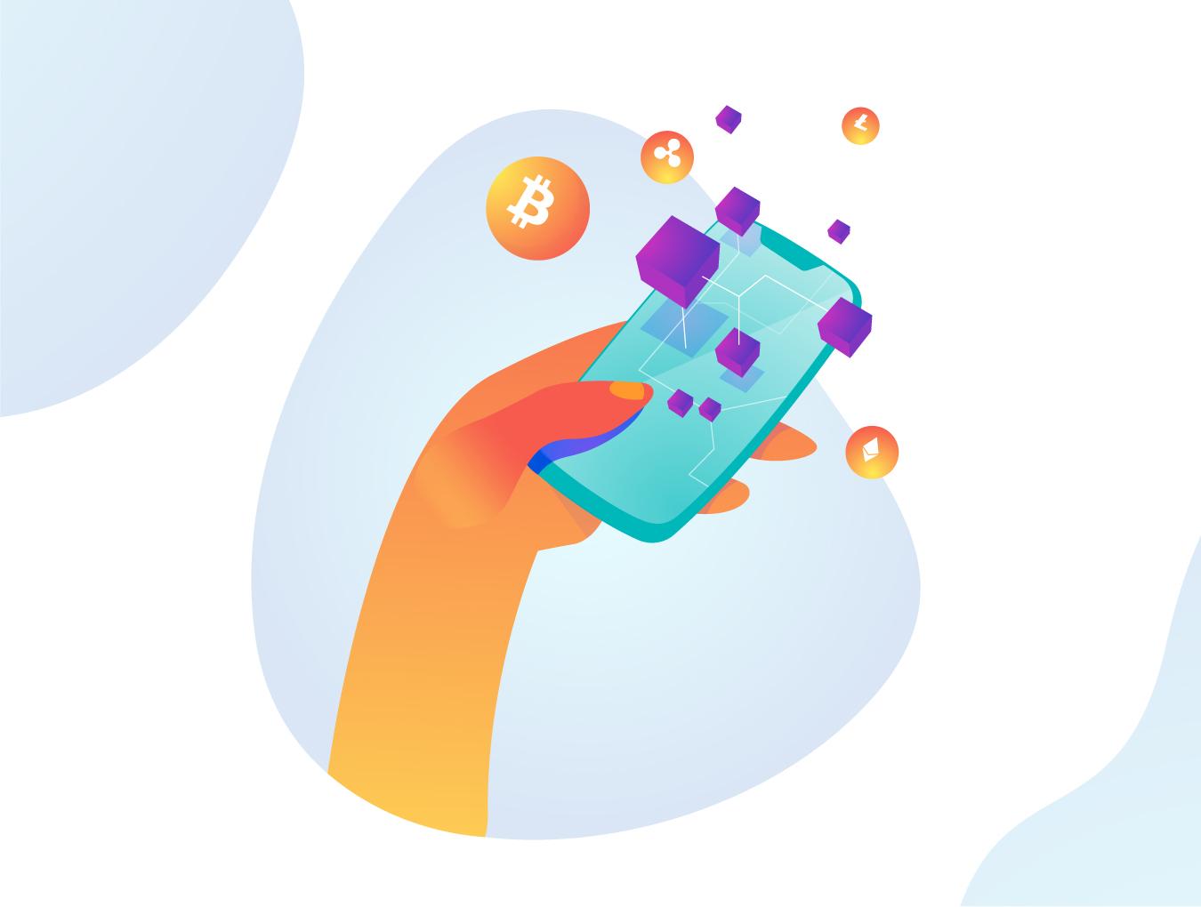 未来科技创意场景插画素材下载[Ai]设计素材模板