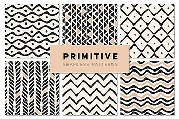 原始无缝模式集 Primitive Seamless Patterns Set