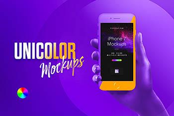 第二弹!iPhone7&Galaxy S8样机手机样机展示模型mockups