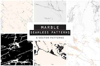 大理石背景纹理 Marbled Vector Patterns – 1