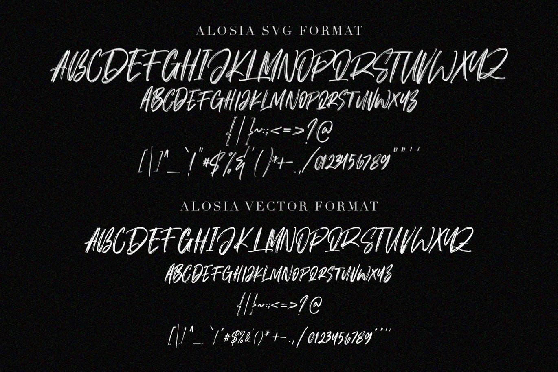 Fonts | 流畅潇洒大气涂鸦笔触毛边街头文化无衬线英文设计字体设计素材模板
