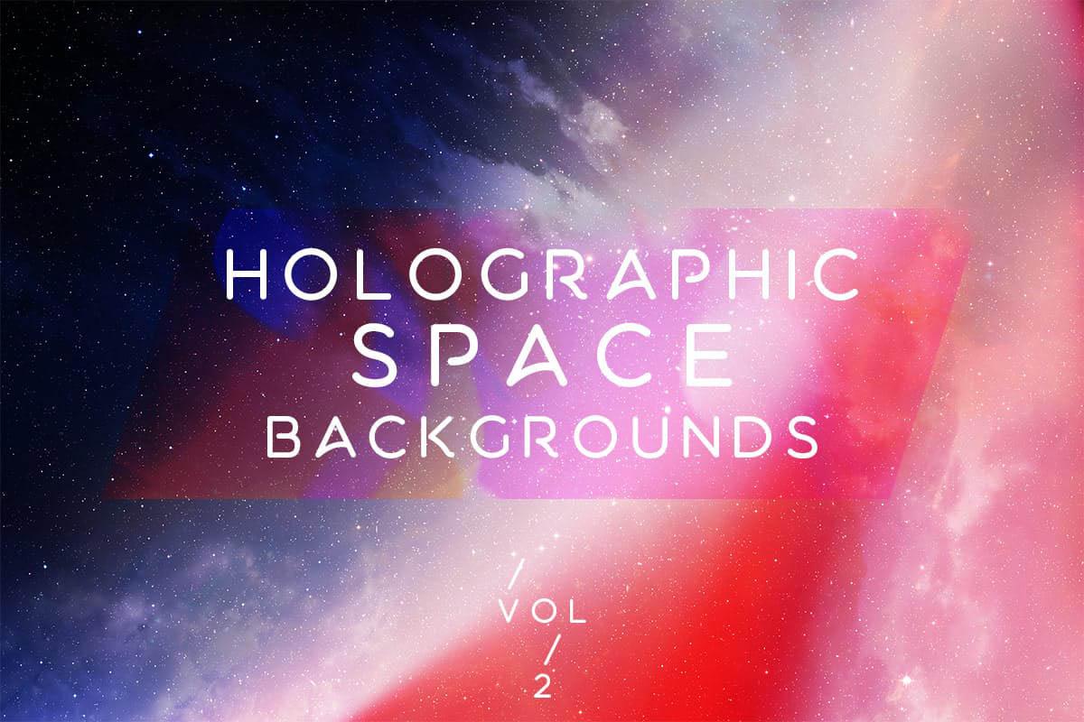 背景纹理 | 10张多彩丰富全息空间宇宙银河图片VOL.2