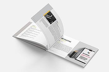 极简多用途的品牌手册设计模板