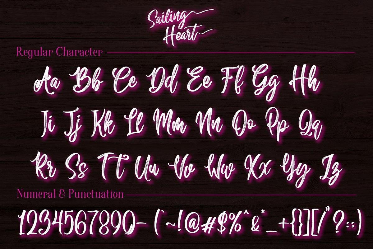字体   漂亮的连笔手写纹理英文FRONT文字设计素材模板