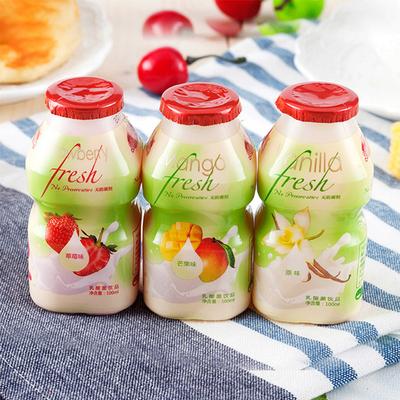 【界界乐】乳酸菌酸奶儿童饮品12瓶