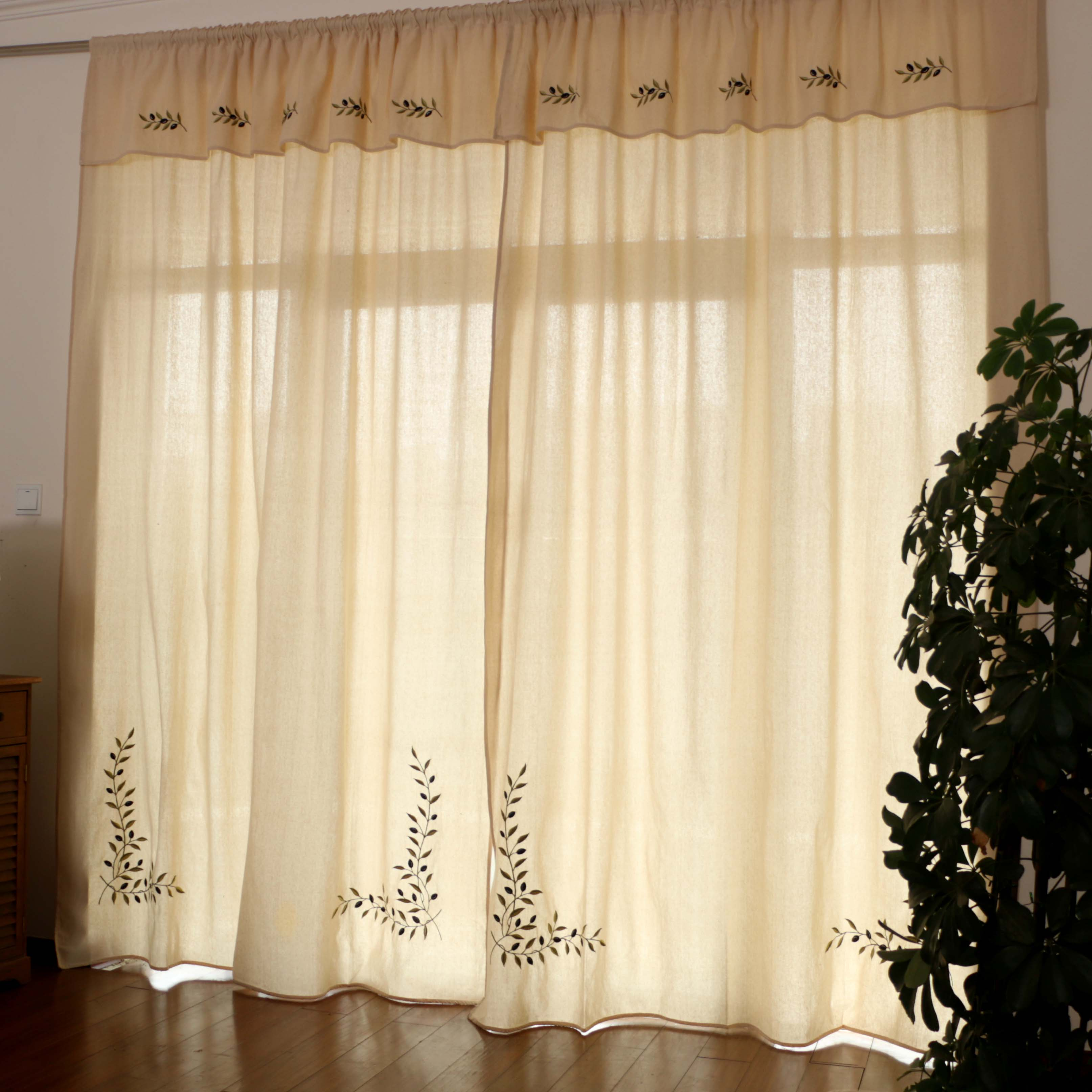 Foreign Trade Greece Original Single American Country Curtains