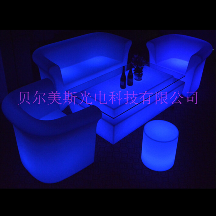 KTV giải trí lớn led ánh sáng bàn cà phê thanh mới bàn nhựa nhẹ bàn thanh kết hợp đặc biệt đồ nội thất