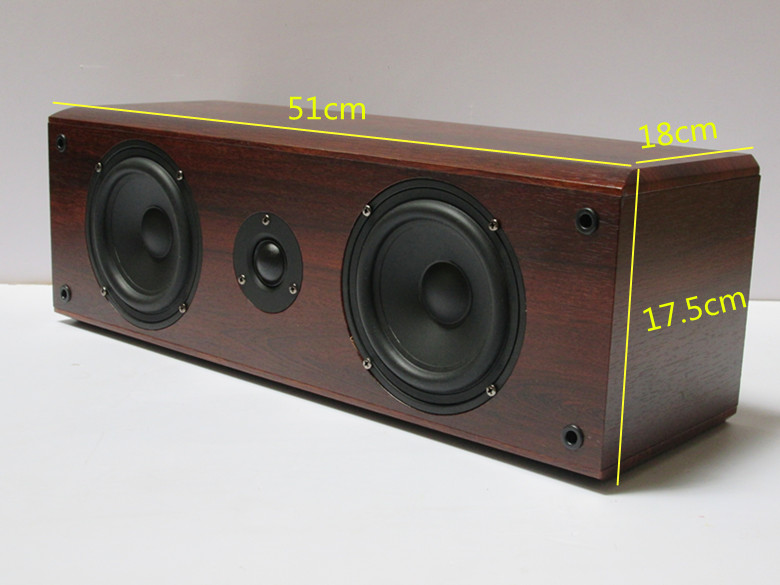 USD 3500 5 25 Inch Passive Wood 2 0 Bookshelf Speaker