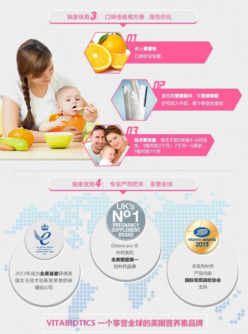英国进口薇塔贝尔宝宝婴幼儿童复合多维营养液补维VD3铁锌150ml ¥85.00 产品系列 第6张