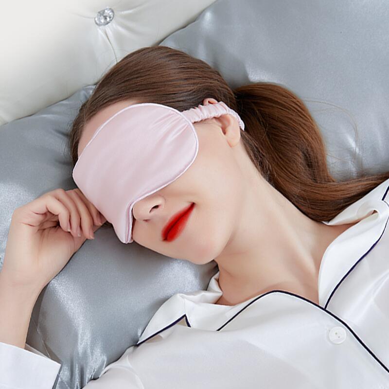 真丝眼罩遮光罩睡眠神器