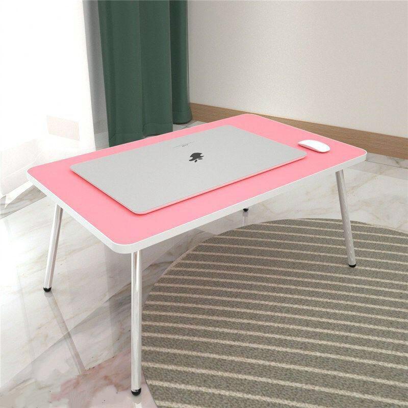床上書桌筆記本電腦桌大學生宿舍學習小桌子折疊兒童寫字桌臥室
