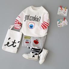 童装新款婴儿秋装套装0-1-2-3-4岁