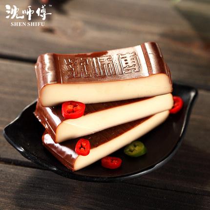 沈师傅鸡蛋干110g*10袋四川特产零食小吃蛋制品散装酱香味蛋食品