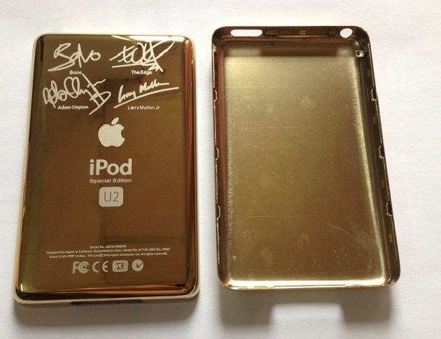 Custom Gold-Colored Front//Back for iPod 6.5th Gen Classic 120GB