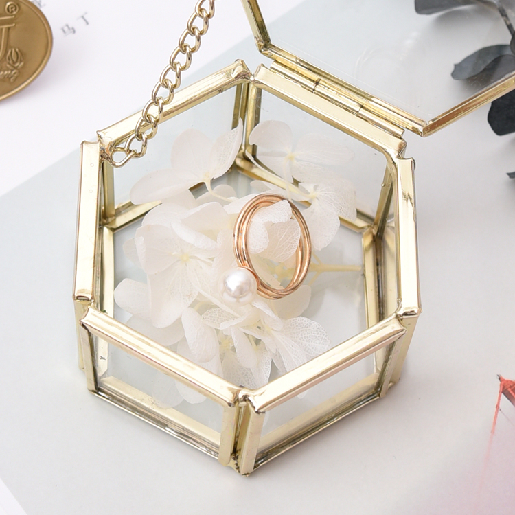 Aliexpress.com : Buy Wedding Gift Box Glass Jewelry Box ... |Glass Box Necklace