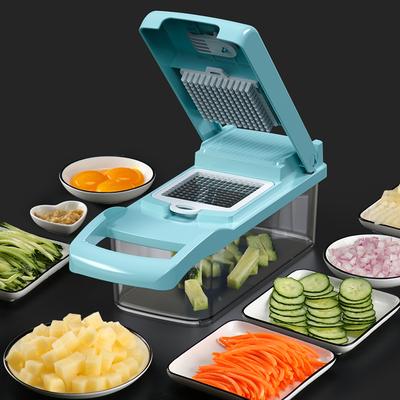切菜神器家用切丁多功能土豆丝切丝器刨丝器土豆切花器厨房擦丝器
