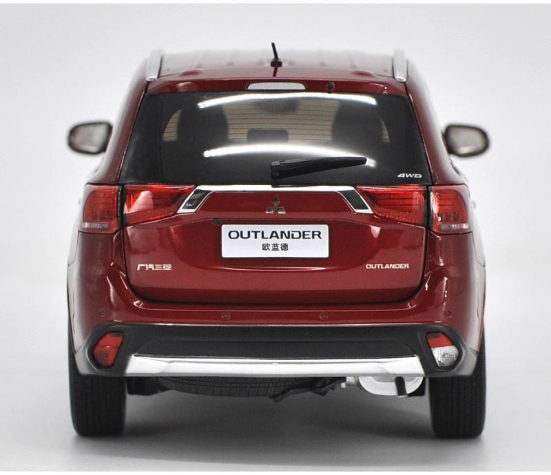 1:18 原廠 廣汽三菱 全新歐藍德 OUTLANDER 越野車 SUV 汽車模型