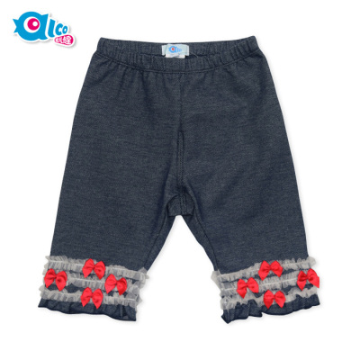 Love children's wear children's wear summer clothing 42-4210700 Comfortable knit pants pants