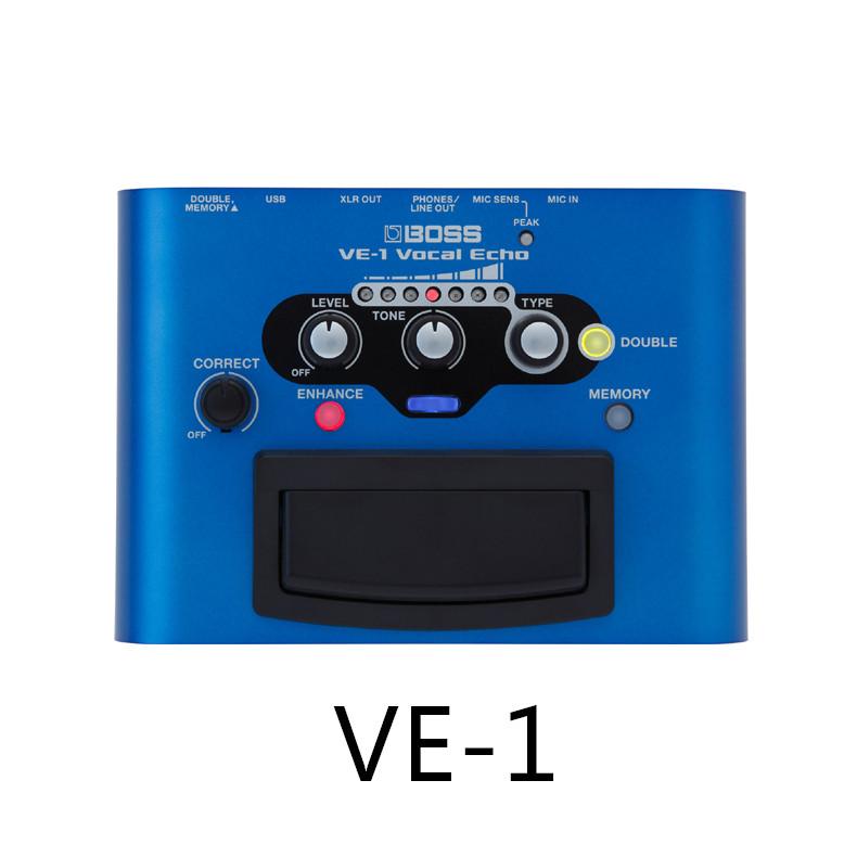 BOSS VE-1 VE2 ve5 VE-20 VE-500 VE-8 VT-4 guitar playing and