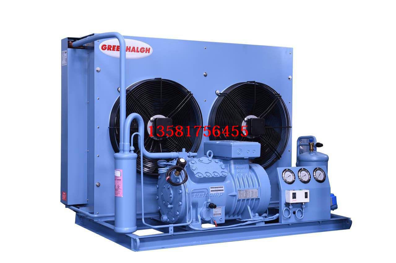 RefComp意大利莱富康冷库机组SP4LF0800中低温8匹HP风冷机组