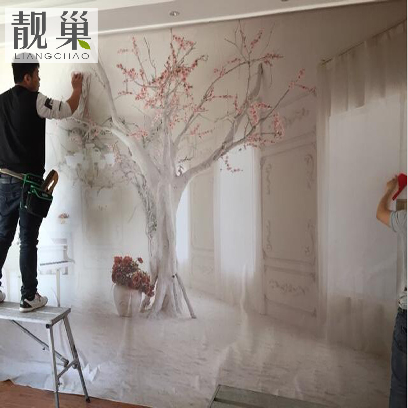 3d TV background wall paper living room 5d mural 8d film and ...