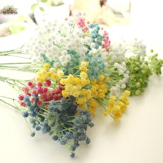 Nordic hand feeling all over the sky star simulation bouquet living room flower arrangement false flower plastic flower decoration dining table decoration